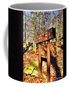 Catoctin Trail Sign Coffee Mug