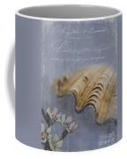 Catspaw Seashell Coffee Mug