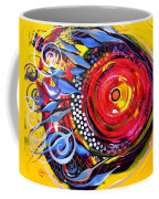 Cautionary Carnival Fish Coffee Mug