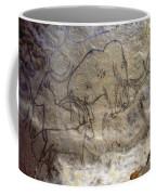 Cave Art - Mammoth And Ibexes Coffee Mug
