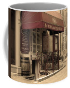 Cave Du Paradoxe Wine Shop In Beaune France Coffee Mug