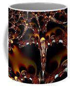Cave Of The Garnet Skulls Coffee Mug
