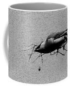 Cedar Waxwing - Bird - Enhanced Coffee Mug