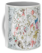 Celestial Planisphere Showing The Signs Of The Zodiac Coffee Mug by Andreas Cellarius