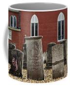 Cemetery And Church Coffee Mug