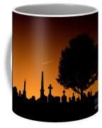 Cemetery And Tree Coffee Mug