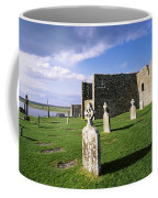 Cemetery In Front Of A Monastery Coffee Mug