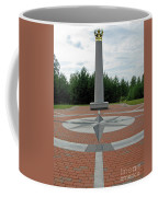 Center Of Europe. Lithuania Coffee Mug