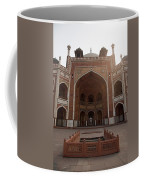 Central Cross Section Of Humayun Tomb In Delhi Coffee Mug