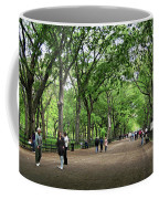 Central Park Arbor Walk Spring Coffee Mug