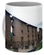 Central Wall - Temple Of Wiracocha Raqchi Peru Coffee Mug
