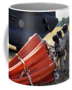 Ch-47 Chinook Helicopter Crew Prepare Coffee Mug