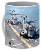 Ch-53e Super Stallion Helicopters Coffee Mug