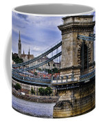 Chain Bridge  Budapest Coffee Mug
