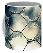 Chainlink Fence Coffee Mug by Joana Kruse
