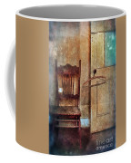 Chair By Open Door Coffee Mug