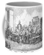 Champagne Production, 1855 Coffee Mug