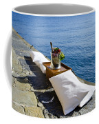 Champagne With Two Pillows Coffee Mug
