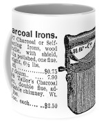 Charcoal Iron, 1895 Coffee Mug