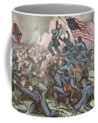 Charge Of The 54th Massachusetts Coffee Mug by Photo Researchers