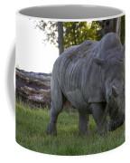 Charging Rhino. Coffee Mug