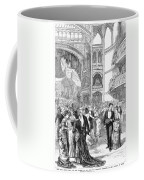 Charity Ball, 1880 Coffee Mug by Granger