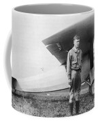 Charles Lindbergh American Aviator Coffee Mug by Photo Researchers