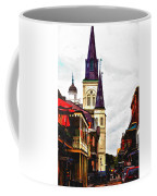Chartres Street - New Orleans Coffee Mug