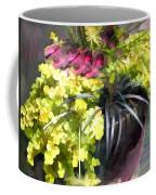 Chartreuse And Purple Plants Coffee Mug