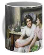 Chatterboxes Coffee Mug by Thomas Benjamin Kennington