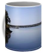 Chautauqua Lake With Watercolor Effect Coffee Mug