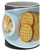Cheese And Crackers Coffee Mug