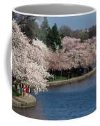 Cherry Blossom Festival, Jefferson Coffee Mug by Richard Nowitz