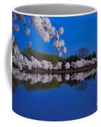 Cherry Blossoms And The Tidal Basin Coffee Mug
