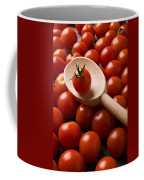 Cherry Tomatoes And Wooden Spoon Coffee Mug