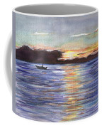 Chesapeake Dusk Boat Ride Coffee Mug