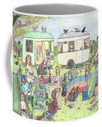 Chest Out Camping Coffee Mug