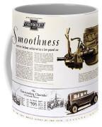Chevrolet Ad, 1929 Coffee Mug