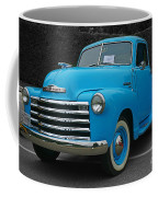 Chevy Pick-up With Bw Background Coffee Mug
