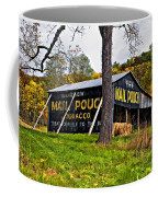 Chew Mail Pouch Painted Coffee Mug