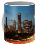 Chicago Business District At Dusk Coffee Mug