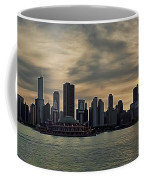 Chicago Skyline Navy Pier Coffee Mug