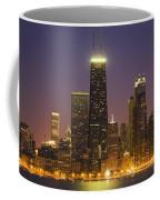 Chicago Skyscrapers With John Hancock Coffee Mug
