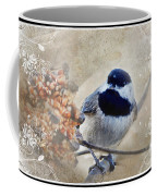 Chickadee Breakfast With Decorations Coffee Mug