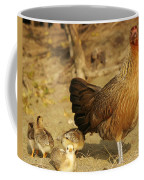 Chicken And Chicks Coffee Mug