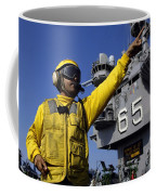 Chief Aviation Boatswains Mate Directs Coffee Mug by Stocktrek Images