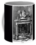 Child Eating, 1875 Coffee Mug