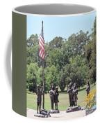 Children Raise The Flag Coffee Mug