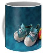 Children Sneakers Coffee Mug by Carlos Caetano