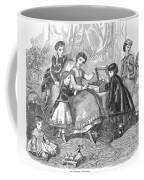 Childrens Fashion, 1868 Coffee Mug